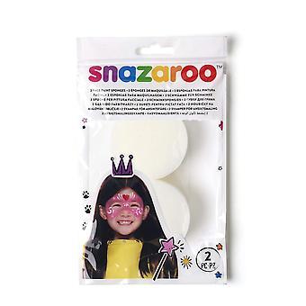 Snazaroo vernice viso spugna ad alta densità - 2 confezioni