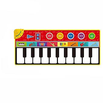 Multifunktionsmusikinstrumenter - Mat Keyboard Piano For Baby