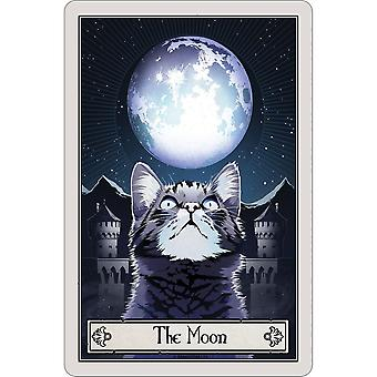 Deadly Tarot The Moon Felis Plaque