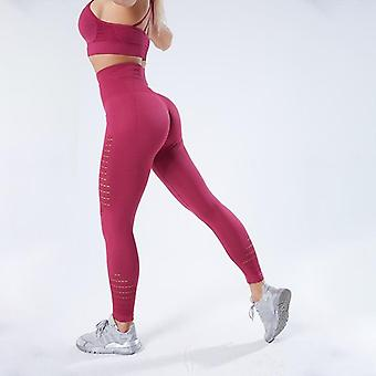 Vrouwen Yoga Broek, Sport Running Sportswear Stretchy Fitness Leggings