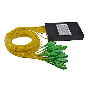 High Quality  Type Plc Splitter, Lc Splitter Box Plc Abs Fiber Optical Telecom