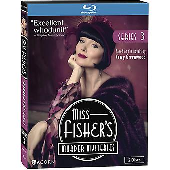 Miss Fishers mord mysterier: serie 3 [Blu-ray] USA import