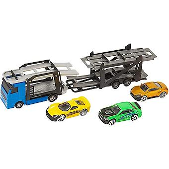 Teamsterz Car Transporter With 3 Cars