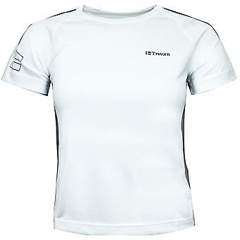 Tretorn Unisex Performance Tee Boys Girls Training Gym T-Shirt White 475546 34