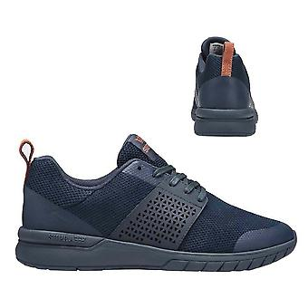 Supra Scissor Lace Up Mens Casual Running Trainers Navy 05669 469 B29C