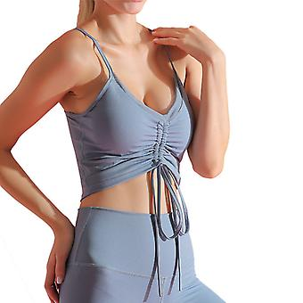 Ladies Slim Yoga Fitness Sports Top Q88