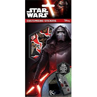 Star wars customising stickers, multi