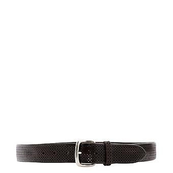 Orciani 7991bustmoro Men's Brown Leather Belt
