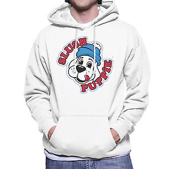 Slush Puppie 00's Logo Män's Hooded Tröja