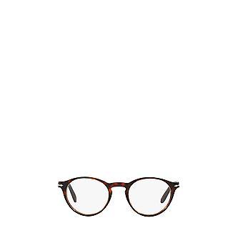 Persol PO3092V havana male eyeglasses