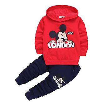 Boys Hooded Top And Pants, Design 6