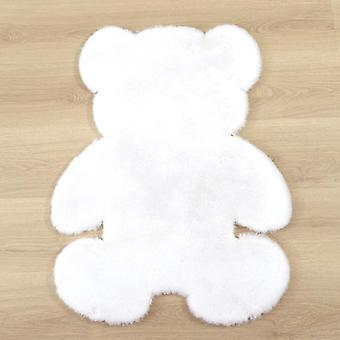 Bear Rug Super Soft Silk Carpet Indoor Modern Living Room Bedroom Antiskid 60cm