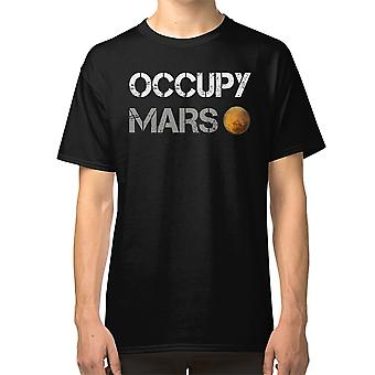 Occupy Mars - Elon Musk Spacex Project Gift Ideas T Shirt Mars Project