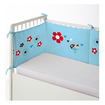 Protecteur de lit bébé Cool Kids Hugo (60 x 60 x 60 + 40 cm)