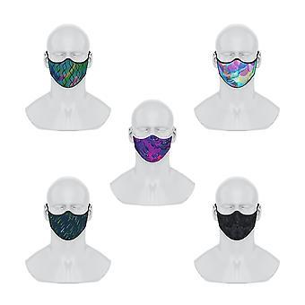 Maskery Premium Face Masks Blinking To The Future Series 5pcs