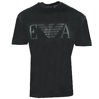 Emporio Armani EA Eagle Logo Musta T-paita
