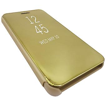 Mirror Case compatible with iPhone 8 Plus   Gold