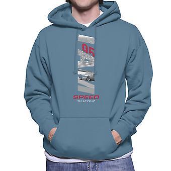 Pixar Cars Lightning Mcqueen 95 Speed Men's Hooded Sweatshirt