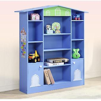 Wooden Kids Cabinet Storage Rack