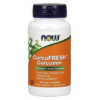 Now Foods CurcuFRESH Curcumin 60 Capsules