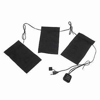 5-in-1 Usb Clothes, Heater Pad With 3-gear Temperature, Electric Heating,