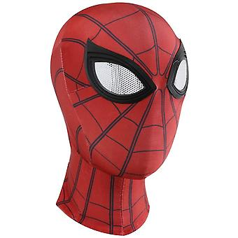 Supmaker 3D Spiderman Masks Spider Man Cosplay Costumes Lycra Mask Superhero Lenses