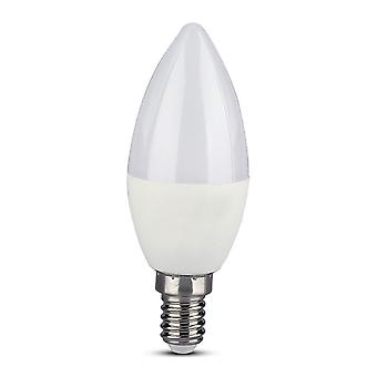 V-tac VT-5114 LED Wifi kaars smart lamp - 4.5W - RGB+W - E14
