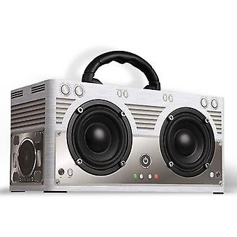 W9 خشبية BT 4.2 المحمولة ستيريو مكبر الصوت