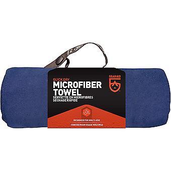McNett taktinen mikrokuituliina Ultra kompakti pyyhe - tummansininen