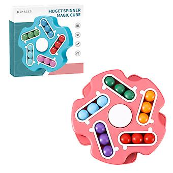 Decompressie speelgoed vingertop spinnen kubus bonen intellectuele roterende magische bean speelgoed kinderen's educatief speelgoed uitpakken speelgoed