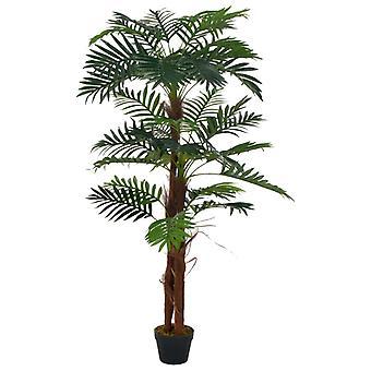 vidaXL Keinotekoinen kasvipalmu potin vihreällä 165 cm