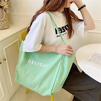 Large Tutorial Bags, Lovely For Young People, Shopping's Shoulder Bag, School