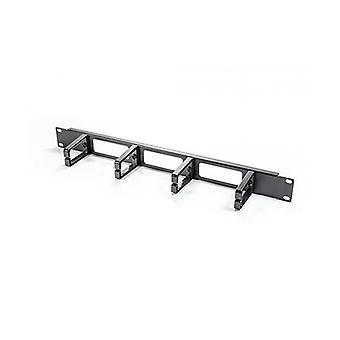 Serveredge 1Ru Horizontal 4 Ringe Kabel-Management-Schiene
