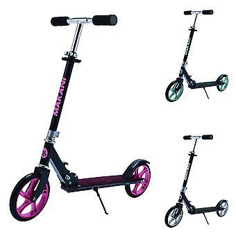Makani Scooter Sigma, PU-Räder, klappbar, Seitenständer, Griff 360° drehbar