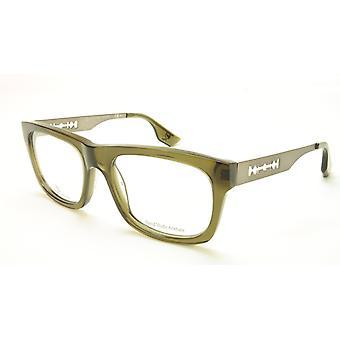 Alexander McQueen Eyeglasses Frame MCQ 0025 RL4 Acetate Metal Italy 53-18-140