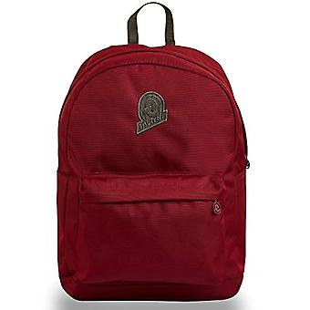 Carlson Solid Invicta Backpack, Red, 27 Lt, School and Leisure