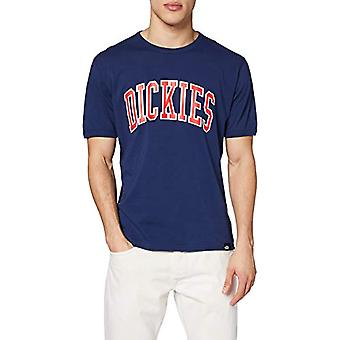 Dickies Philomont T-Shirt, Blue (Deep Blue El0), Medium Men's