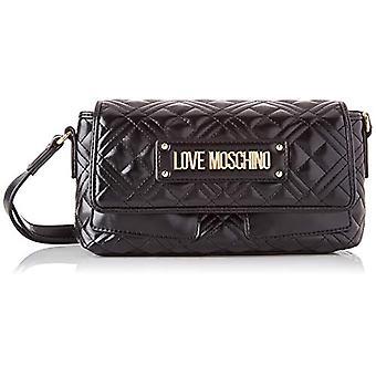 Love Moschino JC4206PP0BKA0, Women's Shoulder Bag, Black, Normal