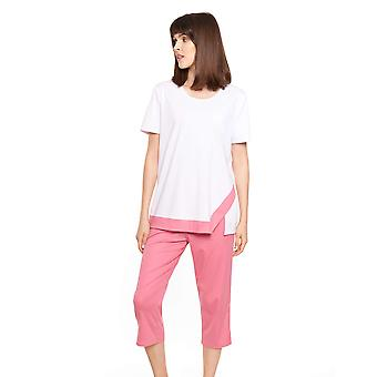 Féraud High Class 3211010-15609 Women's Colourblocking Cotton Pyjama Set