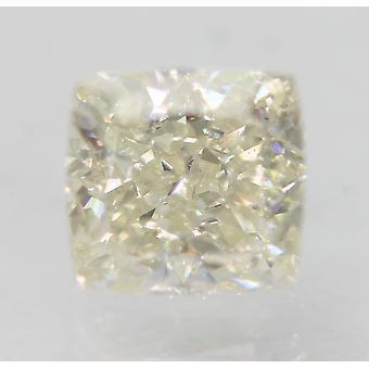 Certificato 0.77 Carat I Colore VVS1 Cuscino Naturale Loose Diamond 4.9x4.69mm