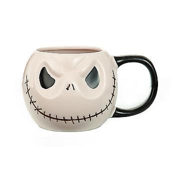 Halloween Cartoon Ceramic Cup Nightmare Before Christmas Jack Mug