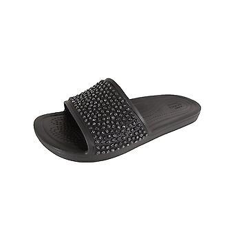 Crocs Womens Sloane Embellished Slide Shoes
