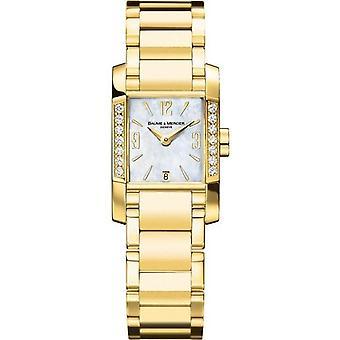 Baume & mercier watch diamant 22mm m0a08698