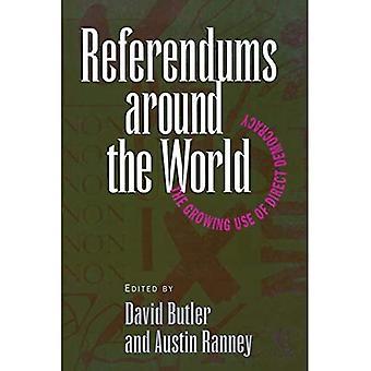 Referenda over de hele wereld: het groeiende gebruik van directe democratie