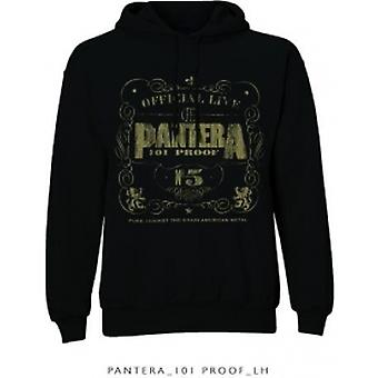 Pantera 101 Proof Pullover Hoodie Black: Small
