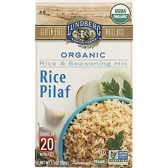 Lundberg Rice Wht Pilaf Entree, Case of 6 X 5.5 Oz