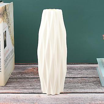 Flower Vase Imitation Ceramic Flower Pot Decoration Plastic Vase