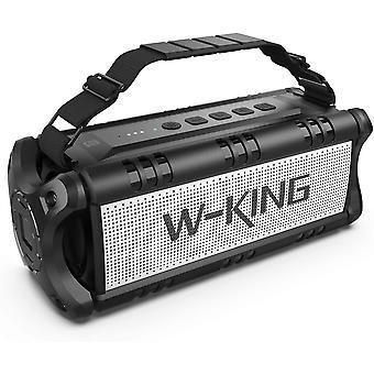 Wokex 50W (70W Peak) Bluetooth-Lautsprecher, tragbare drahtlose Lautsprecher wasserdicht mit 24 Stunden