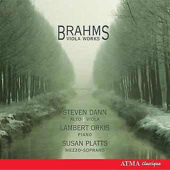 J. Brahms - Brahms: Viola Works [CD] USA import