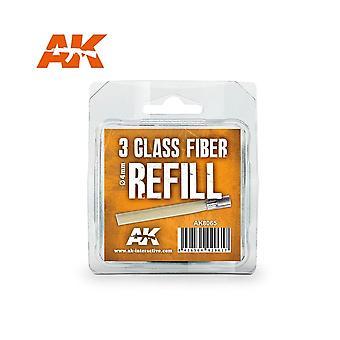 AKインタラクティブAK8065 - 3ガラス繊維リフィル - モデルクラフト作り